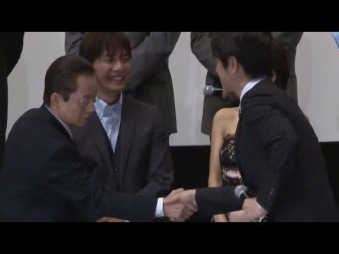 水谷豊、ミッチーのあいさつに爆笑  映画「相棒-劇場版3-」初日舞台あいさつ(2) #Partner #movie