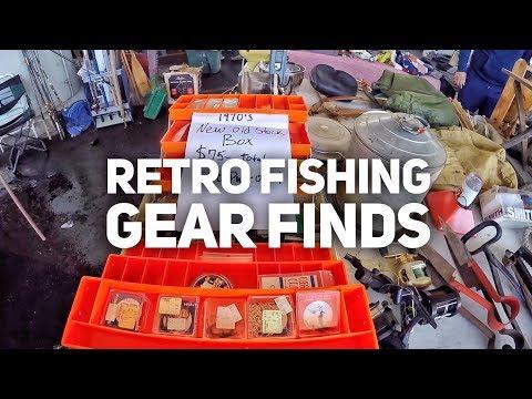 Retro Fishing Gear Finds! - Sacramento Antique Faire