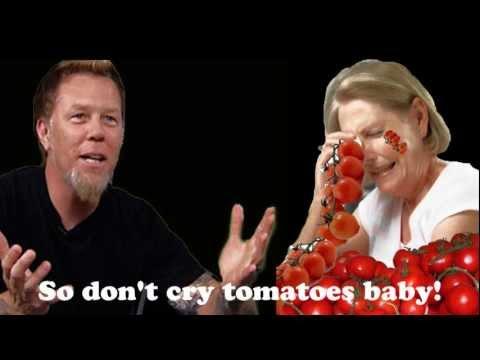 Metallica - Die, Die, Die My Dalek (Don't Cry Tomatoes)