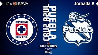 Resumen y Goles | Cruz Azul vs Puebla | Liga BBVA MX - Guard1anes 2021 - Jornada 2
