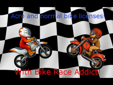 Bike Race Pro Licenses   Acro And Normal!