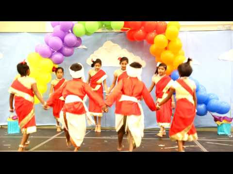 Andhra Pradesh Tribal Dhimsa Dance @ Fairlands Elementary School Multi-Cultural Festival 2009