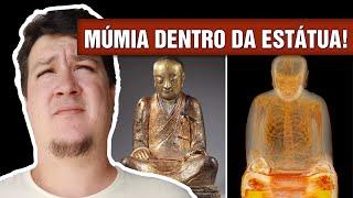 Tomografia em Estátua de Buda Revela Múmia e Intriga Cientistas (#105 - Notícias Assombradas)