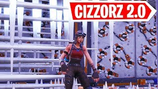 CIZZORZ DEATHRUN 2.0 SPEEDRUN Practice (Fortnite Custom Game)