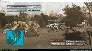 Xenia Xbox 360 Emulator - Zoids Assault Ingame!