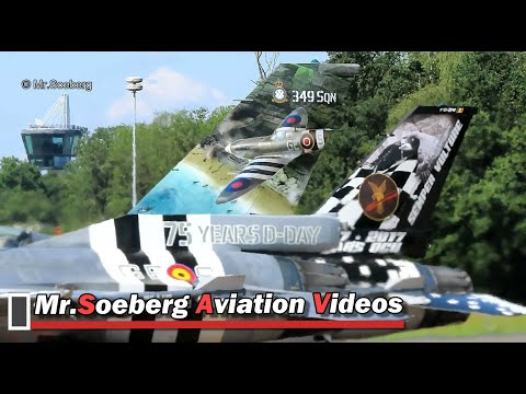 COLORFUL F16's BAF, DEPARTURE at Volkel, Openhouse 2019