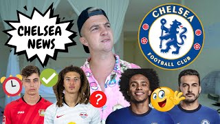 CHELSEA FC NEWS | HAVERTZ to CHELSEA ABOUT TO HAPPEN! | THANK YOU WILLIAN AND PEDRO