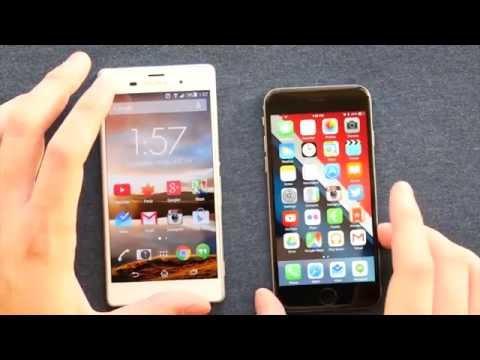 Sony Xperia Z3 vs iPhone 6