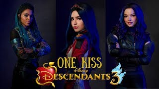 Descendants 3 - One Kiss | Greek Lyrics