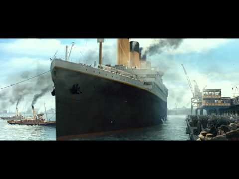 Titanic 3D | The Boat Leaving The Port | Official Clip HD