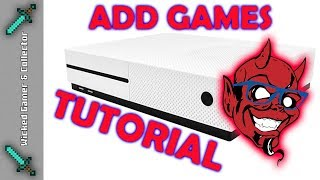 X-Game \ 600 in 1 / Fake Xbox Console - How to Add more Games ?