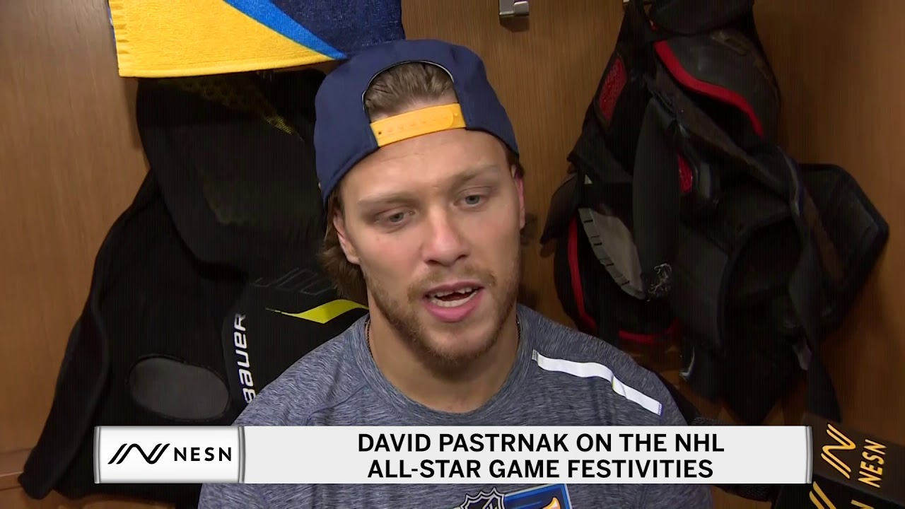 David Pastrnak On Missing His Bruins Jersey