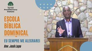 Escola Bíblica Dominical (26/04/2020) - Igreja Presbiteriana Itatiaia