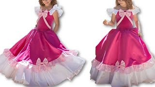 DIY Princess Baby Frock Step by Step Cutting Stitching