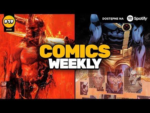 Comics Weekly #19 – Dlaczego w kinach rządzi tylko Marvel i DC?