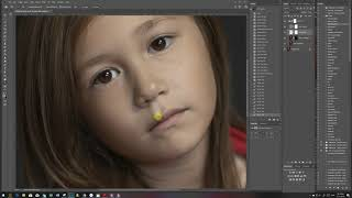 Portrait Editing using Photoshop, Frequency Separation and Exposure X