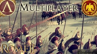 Rome 2 Total War: Multiplayer Gameplay Sparta Vs Rome #1