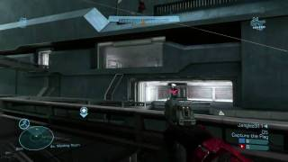 Halo Reach Beta: 1 Flag CTF on Sword Base Part 2