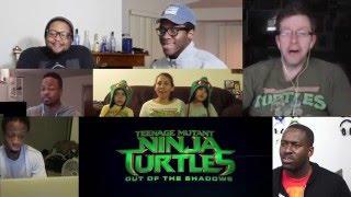 Teenage Mutant Ninja Turtles 2 Trailer - Reactions Mashup