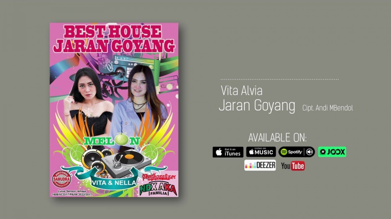 Vita Alvia Jaran Goyang Official Audio Youtube