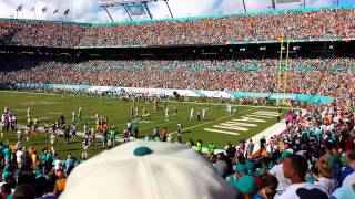 Packers last second td vs dolphins