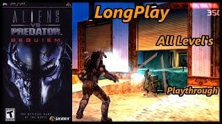 Aliens vs. Predator: Requiem Game - Longplay PSP (All Level's) Full Game Walkthrough (No Commentary)
