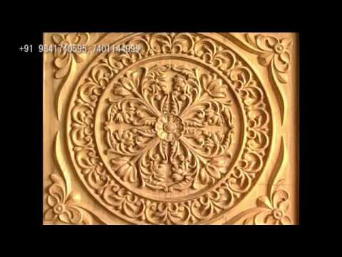 Wood carving doors mercury carving works youtube for Wood carving doors hd images