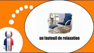 урок французского языка = Мебель и дом № 1