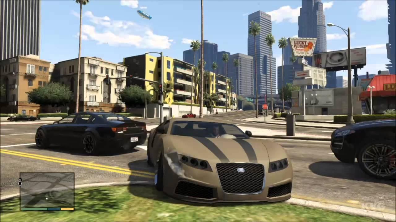 Grand Theft Auto 5 - Bugatti Veyron Tuning Car Driving ...