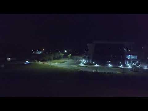 Night flight from fsu campus Panama City