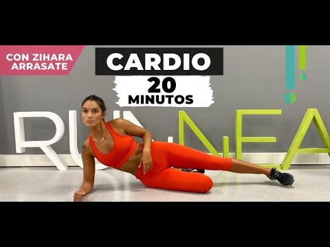 Sesión cardio crossfit en casa 20 minutos para adelgazar con Zihara