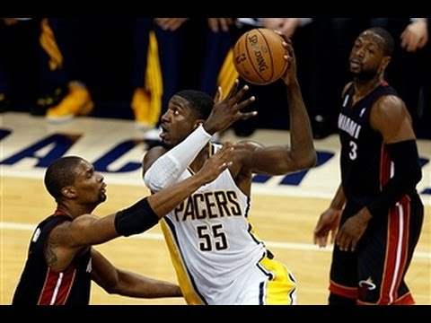 Roy Hibbert Powers the Pacers in Game 4!