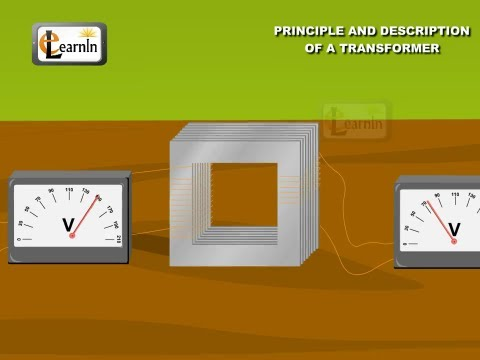 Principle and description of a transformer - Part 1 - Physics