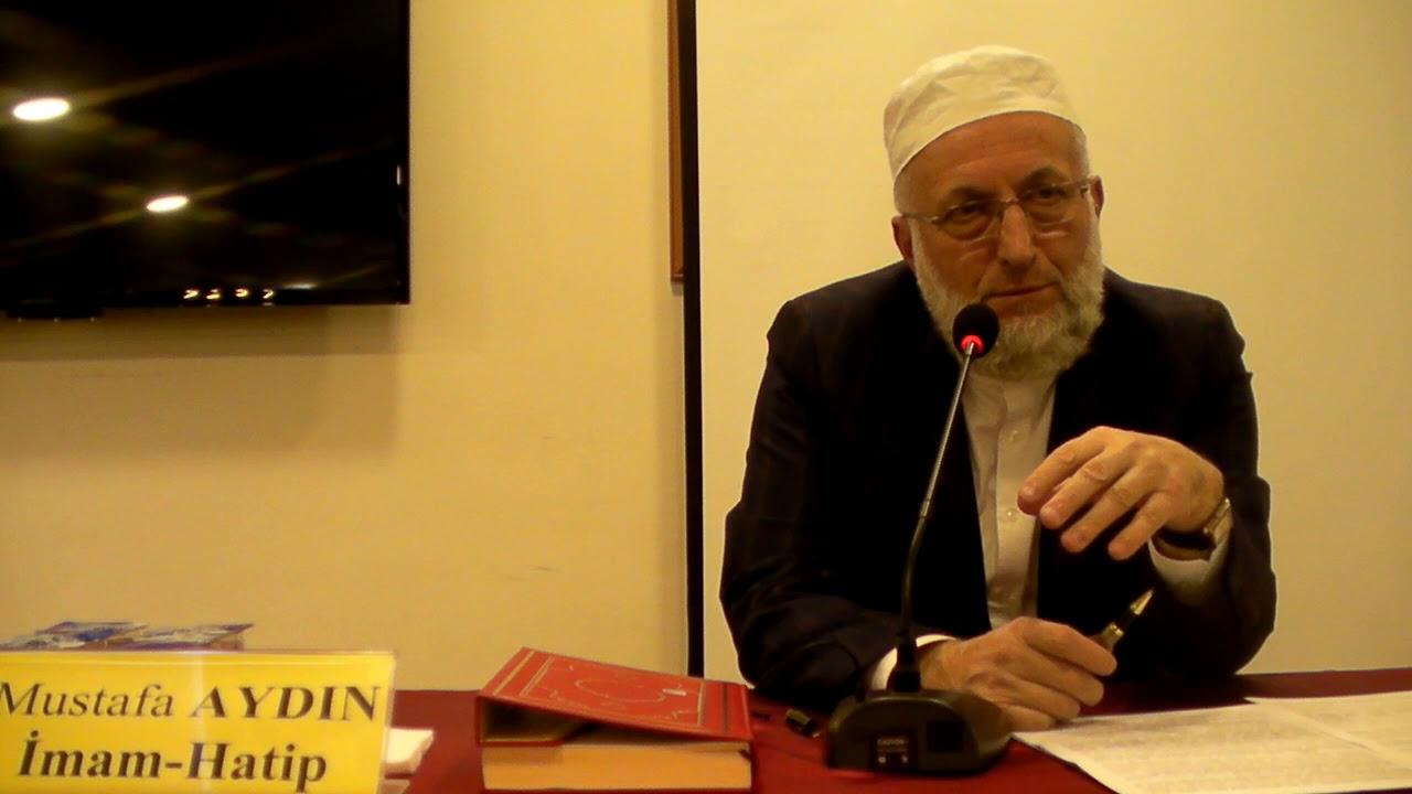Mustafa Aydın 10 Kasım 2017 Konferans