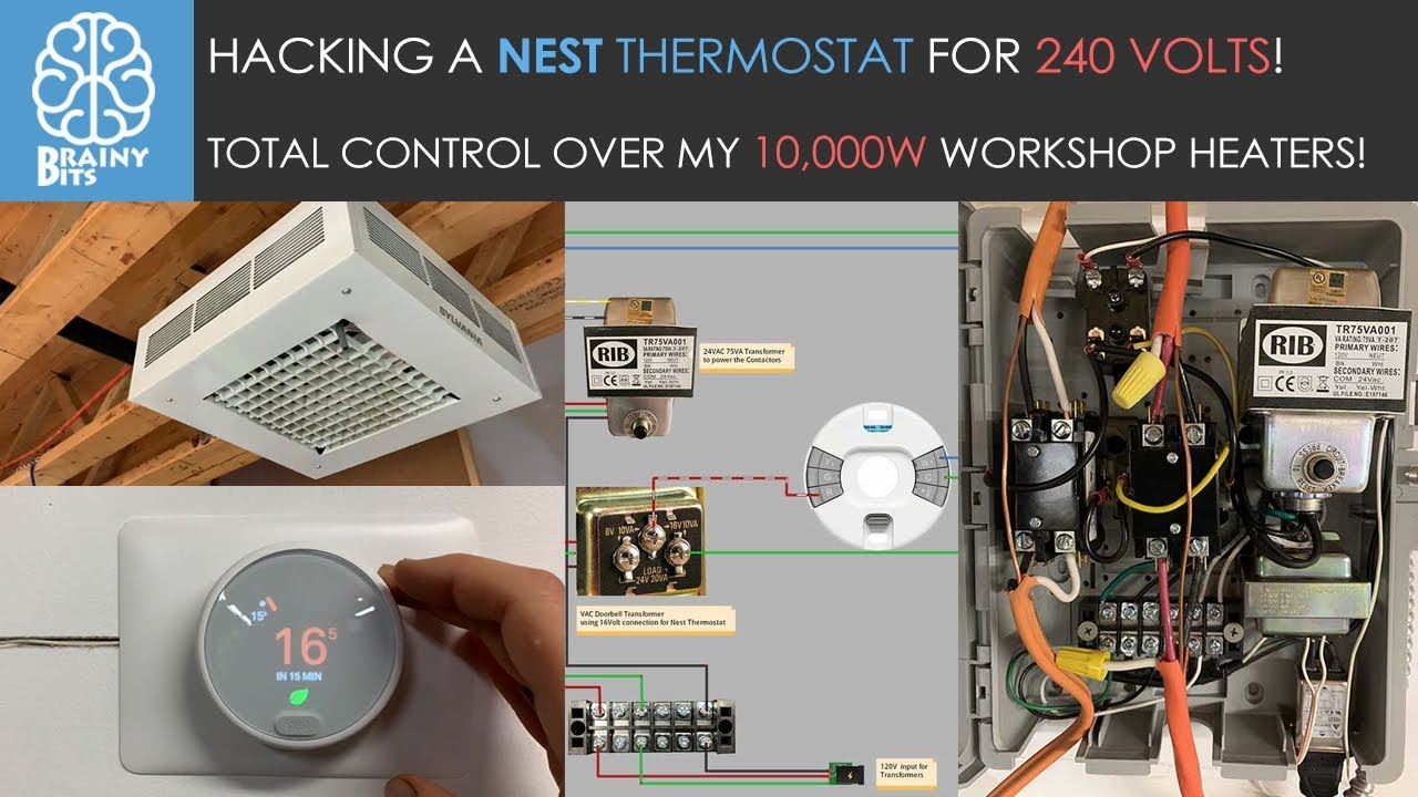 120v Line Voltage Thermostat Wiring Diagram