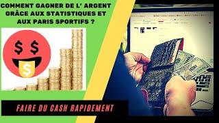 💰💰Comment GAGNER de L' ARGENT grâce aux STATISTIQUES et aux PARIS SPORTIFS ?💰💰