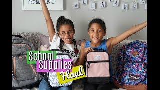 BACK TO SCHOOL SUPPLIES HAUL | 2018