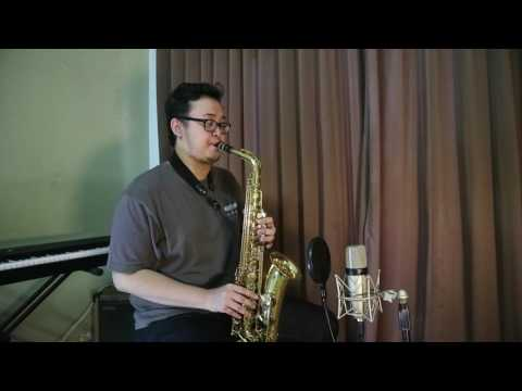 Beautiful In White (saxophone Cover)