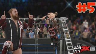 WWE 2K15 Gameplay - Hall Of Pain - Lucha en la Jaula de Acero - Daniel Bryan Vs Mark Henry