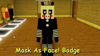 Mask As Face Badge Piggy RP W I P Remake