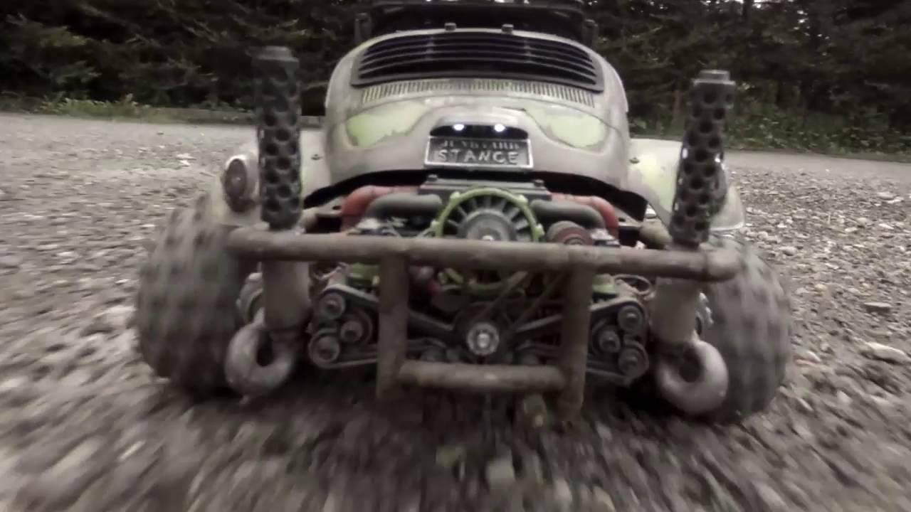 Junkyard Stance Tamiya Sand Scorcher Porsche Engine