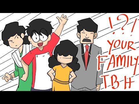 My Crazy Family   Relatable ? A Cartoon Vlog By Antik Mahmud
