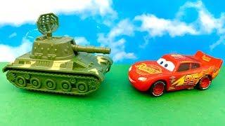 Zig Zag McQueen i Czołg  Po Polsku  Bajka dla dzieci