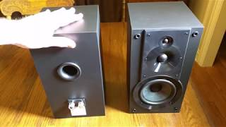 REVIEW Sony SSCS5 3-Way 3-Driver Bookshelf Speaker System (Pair)