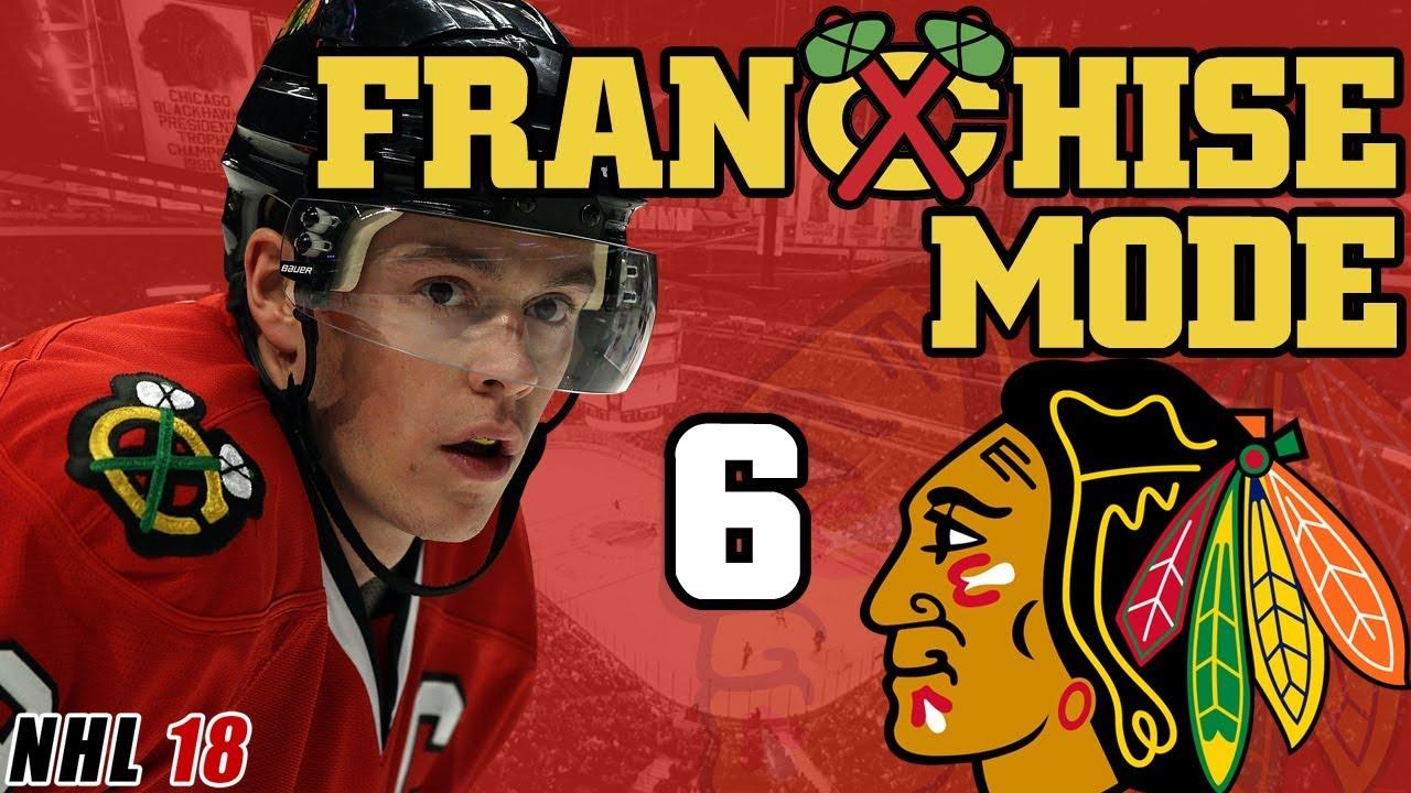 NHL 18  Chicago Blackhawks Franchise Mode EP6 - Second Season Sim ... b0cd635db