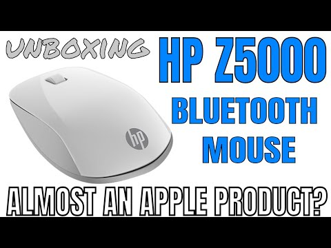 16b76db48fd Unboxing HP Z5000 BLUETOOTH MOUSE - Apple Aesthetics on every OS - - YouTube