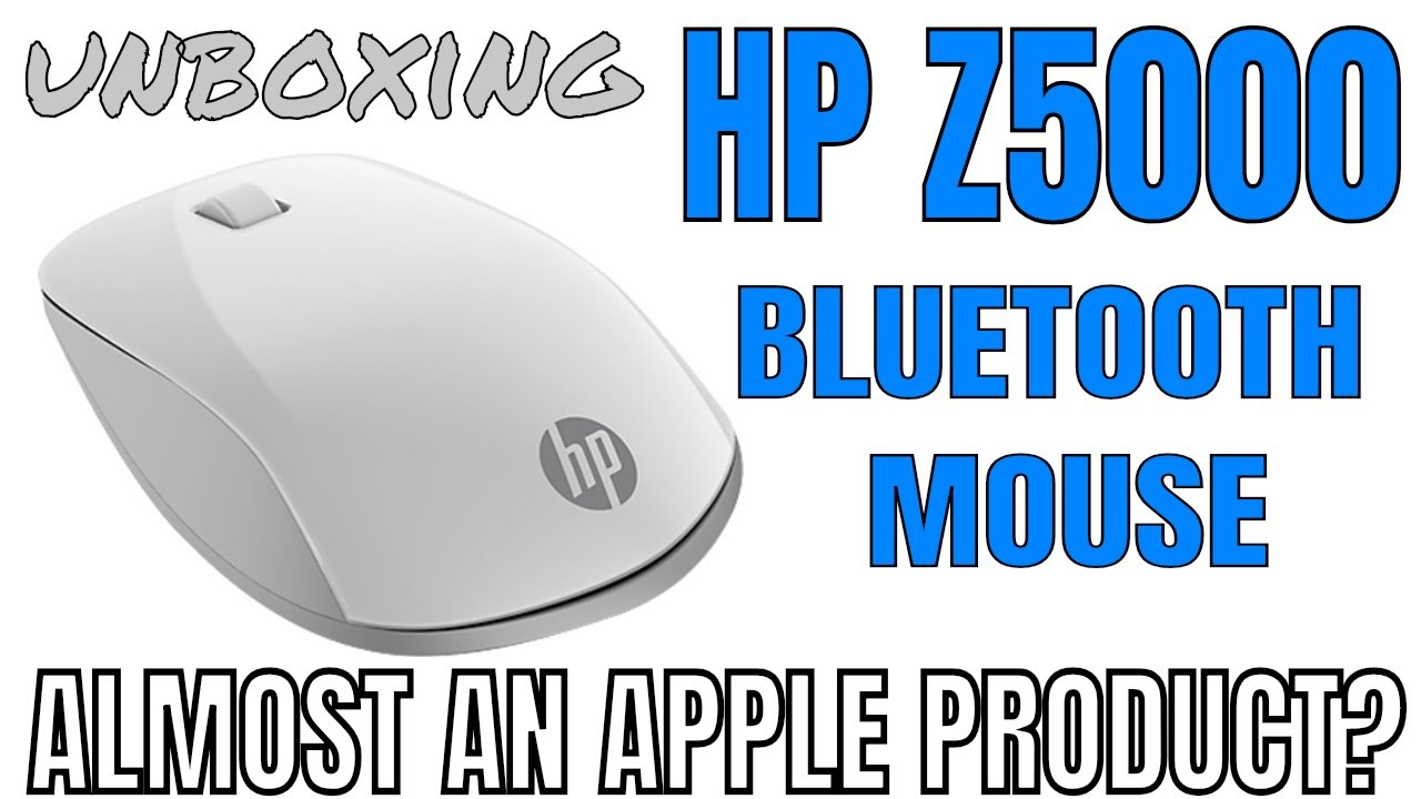 e6a9dcf9f64 Unboxing HP Z5000 BLUETOOTH MOUSE - Apple Aesthetics on every OS ...