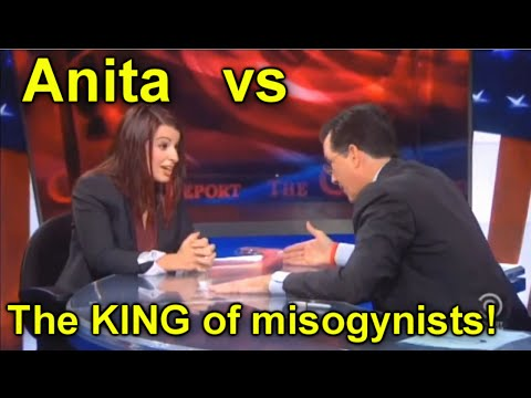 Anita Sarkeesian on Colbert Report