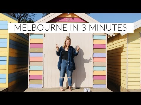 Explore Melbourne in Three Minutes TRAVEL DIARY | Elisabeth Beemer