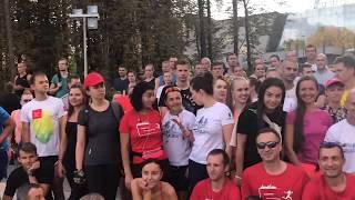 Тренировка бегового движения БФЛА #followminsk с Ольгой Мазуренок